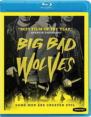BIG BAD WOLVES BY ASHKENAZI,LIOR (Blu-Ray)