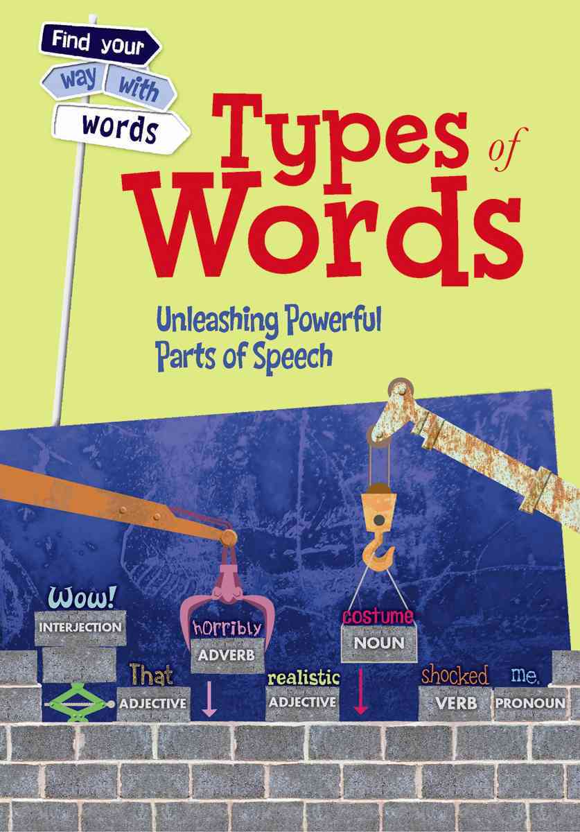 Types of Words By Vickers, Rebecca